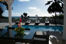 Villa luxe Martinique - Vue sur le rocher du Diamant