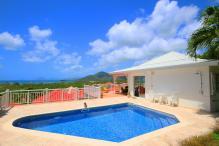 Location villa de standing piscine vue mer panoramique