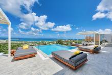 Location villa de luxe Saint Martin, Baie Orientale - Vue d'ensemble