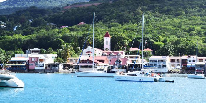 Eglise Deshaies - Guadeloupe