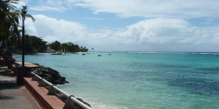 Front de mer de Sainte Anne - Guadeloupe