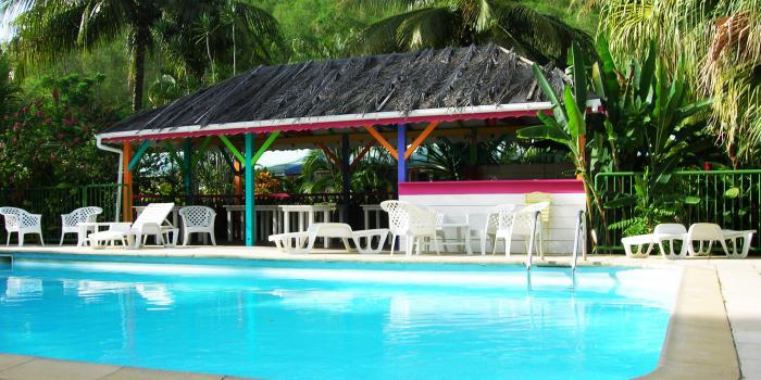 Résidence Fleurs des Iles - Deshaies - Guadeloupe - Piscine