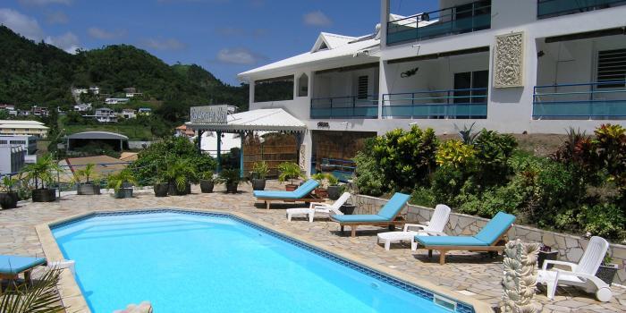 Résidence des iles - Martinique - La piscine