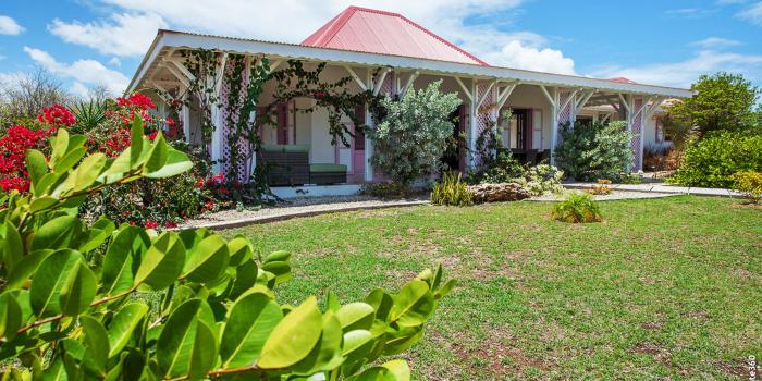Villa de charme à louer Marie Galante - Vue d'ensemble