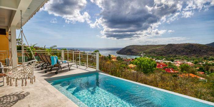 Location maison Martinique - Vue mer