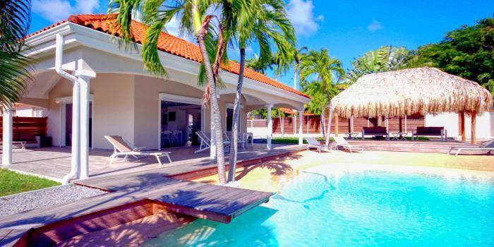 Location villa de luxe au François Martinique Vue d'ensemble