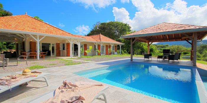 Location villa Martinique - Vue d'ensemble