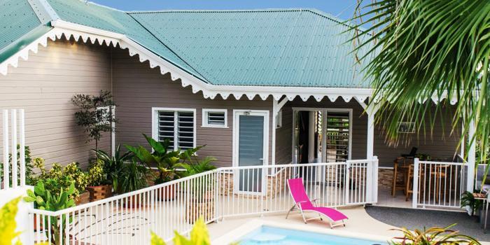 Location villa Martinique - Villa 1 - Vue ensemble
