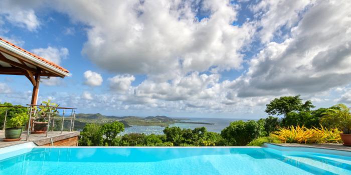 Location villa luxe Martinique - Vue Mer