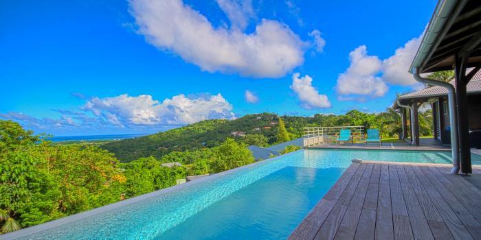 Location Villa Martinique - Grande Piscine