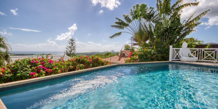 location villa martinique vue panoramique