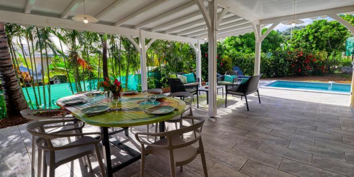 Location villa Martinique - La Terrasse