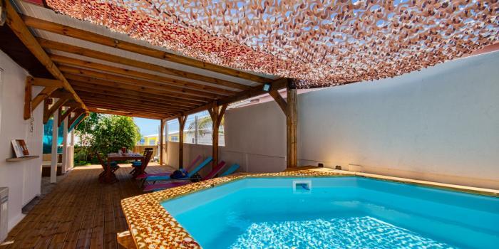 MQSL18 Villa sainte luce proche plage martinique vue