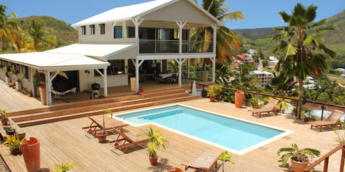 Villa Trois Ilets Martinique-Vue d'ensemble