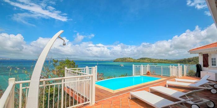 Location villa Martinique - Vue mer