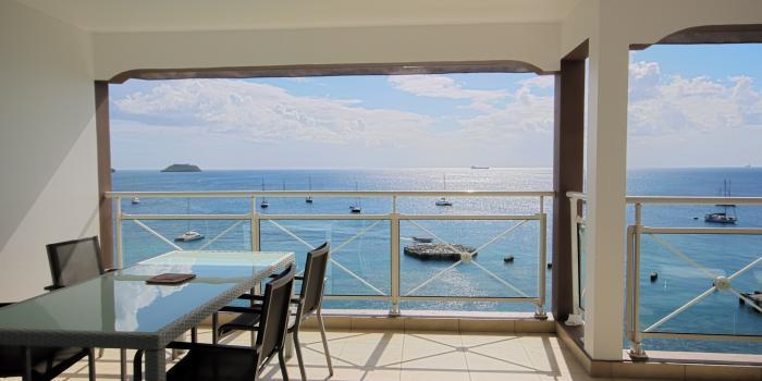 Location appartement Martinique - Vue Mer