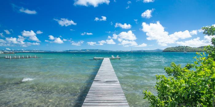 Villa d'exception Pointe du Bout Ponton privé Trois ilets Piscine pieds dans l'eau ponton privé Martinique