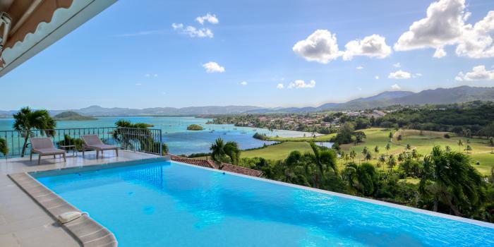 location villa de luxe martinique vue mer piscine