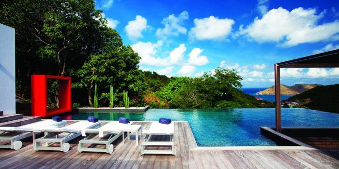 Location villa Flamands - La piscine
