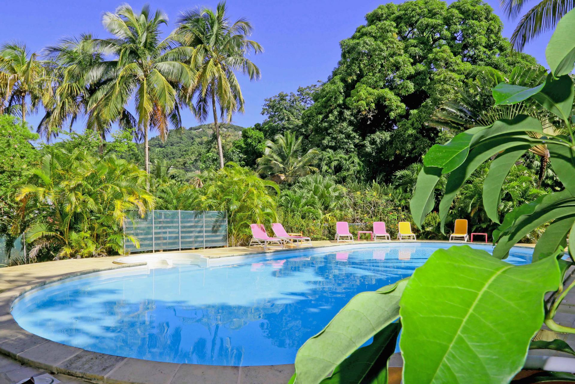 Photo Caraïb' Bay Hotel - Hotel de charme Guadeloupe - Piscine