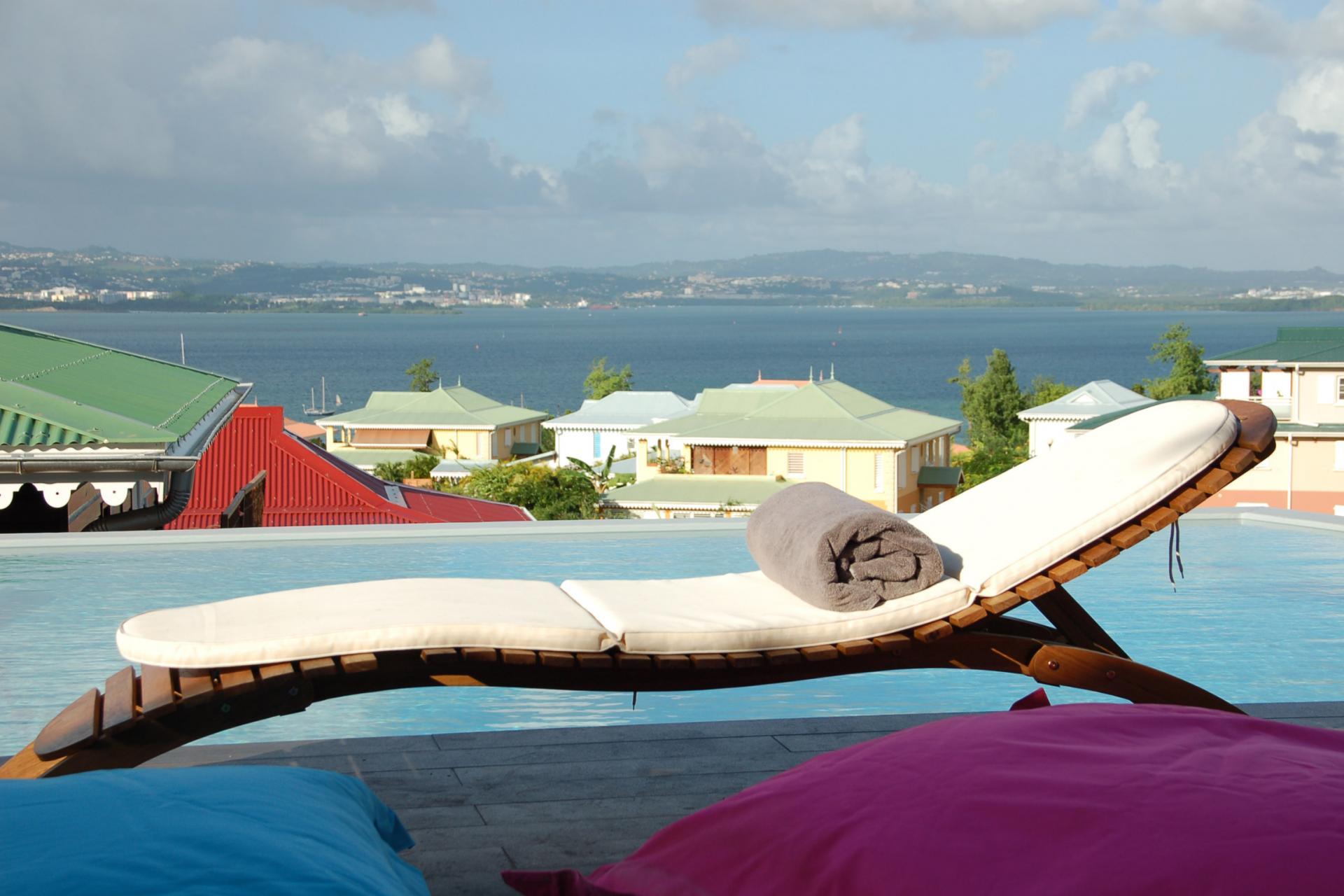 Hotel La Suite Villa Martinique - Piscine