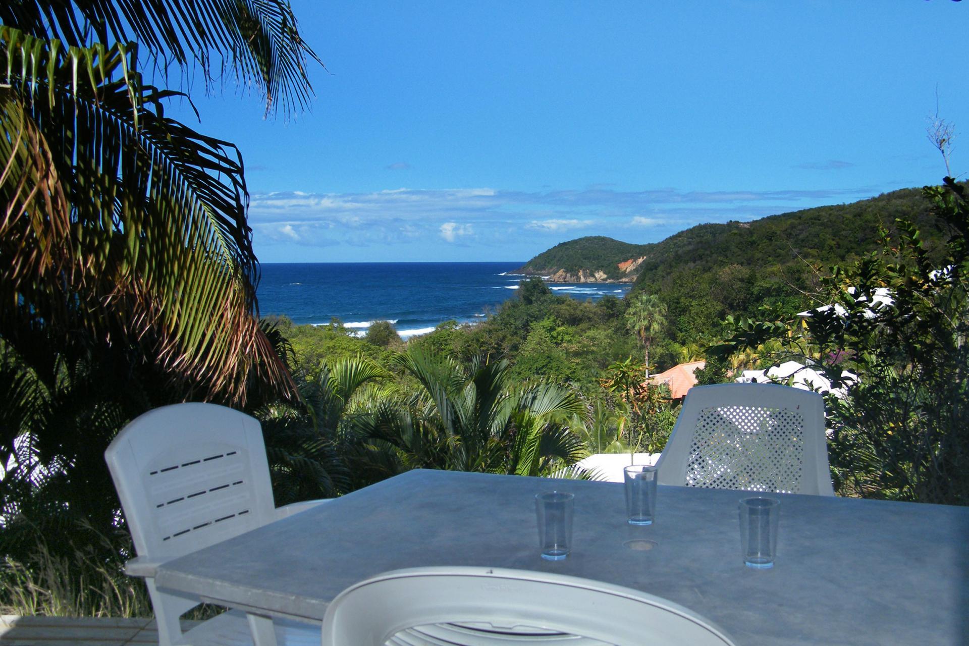 Résidence Océane Tartane Martinique - Vue mer