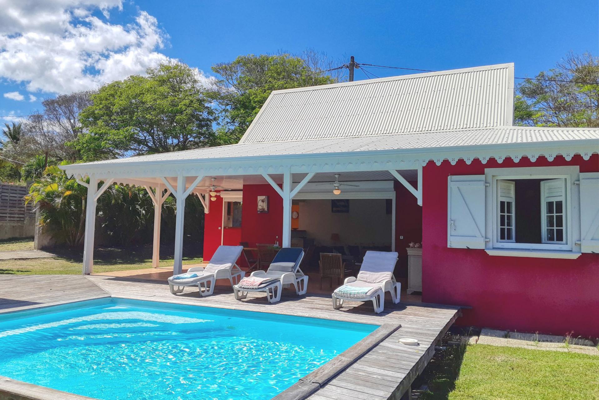 Location maison Martinique - Vue ensemble