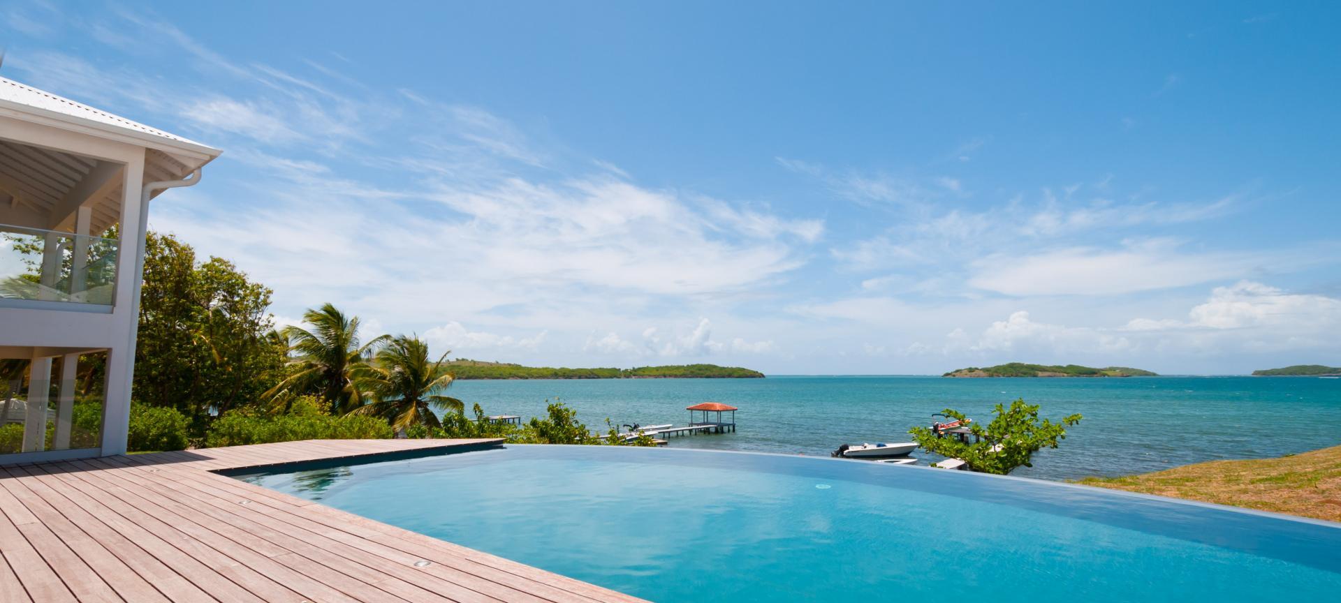 Villa luxe martinique - vue mer