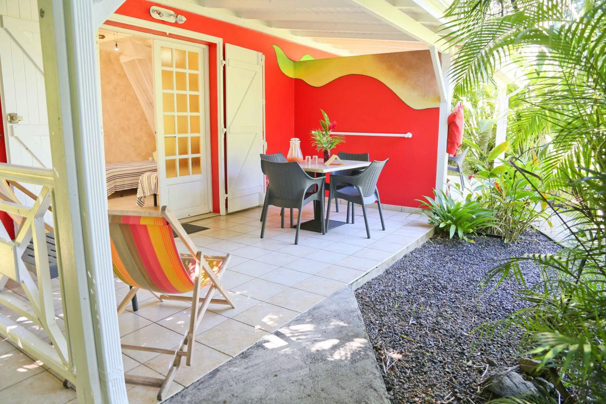 Photo Caraïb' Bay Hotel - Hotel de charme Guadeloupe - Bungalow Duplex