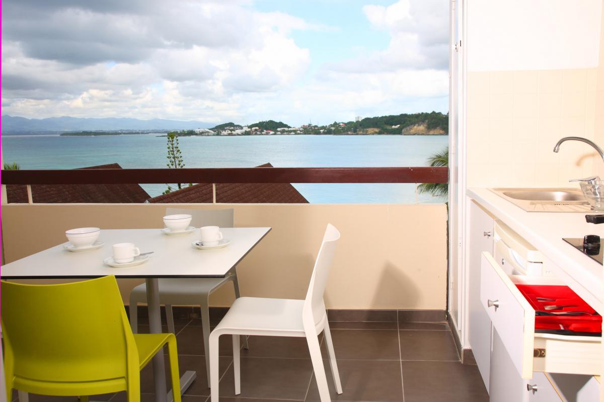 Mahogany Residence - Terrasse chambre et duplex