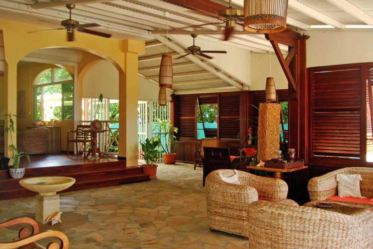 Hotel Diwali Guadeloupe - Photo hotel de charme - Accueil