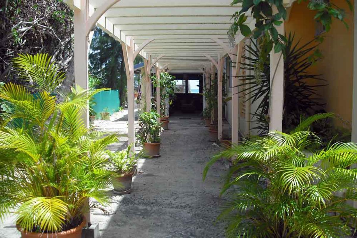 Hotel Diwali Guadeloupe - Photo hotel de charme - L'entrée