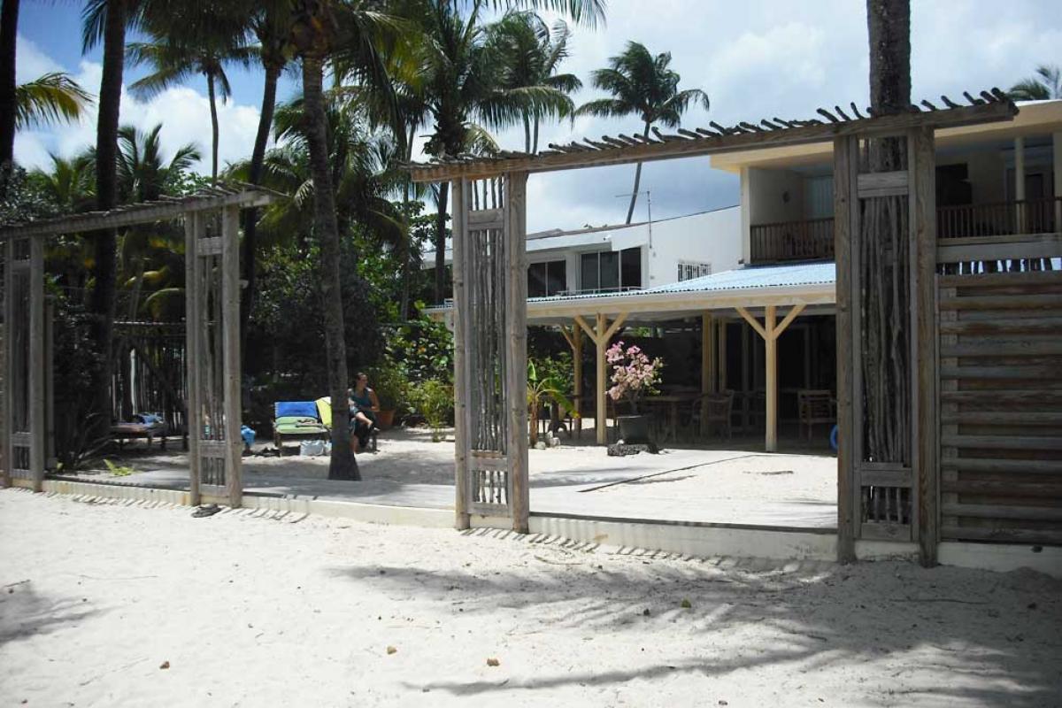 Hotel Diwali Guadeloupe - Photo hotel de charme - Vue de la plage