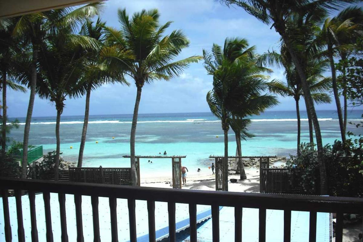 Hotel Diwali Guadeloupe - Photo hotel de charme - Vue depuis chambres vue mer