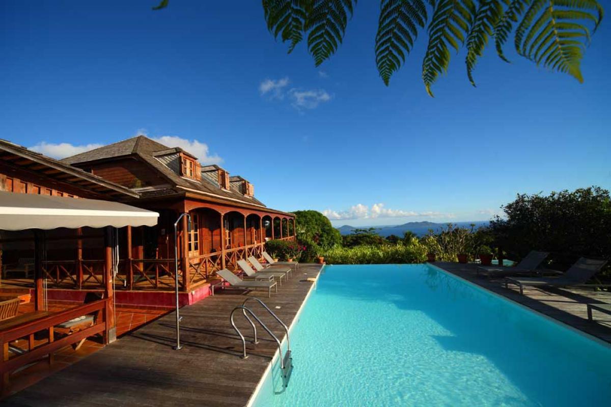 Le Jardin Malanga Guadeloupe - Photo hotel de charme - Piscine