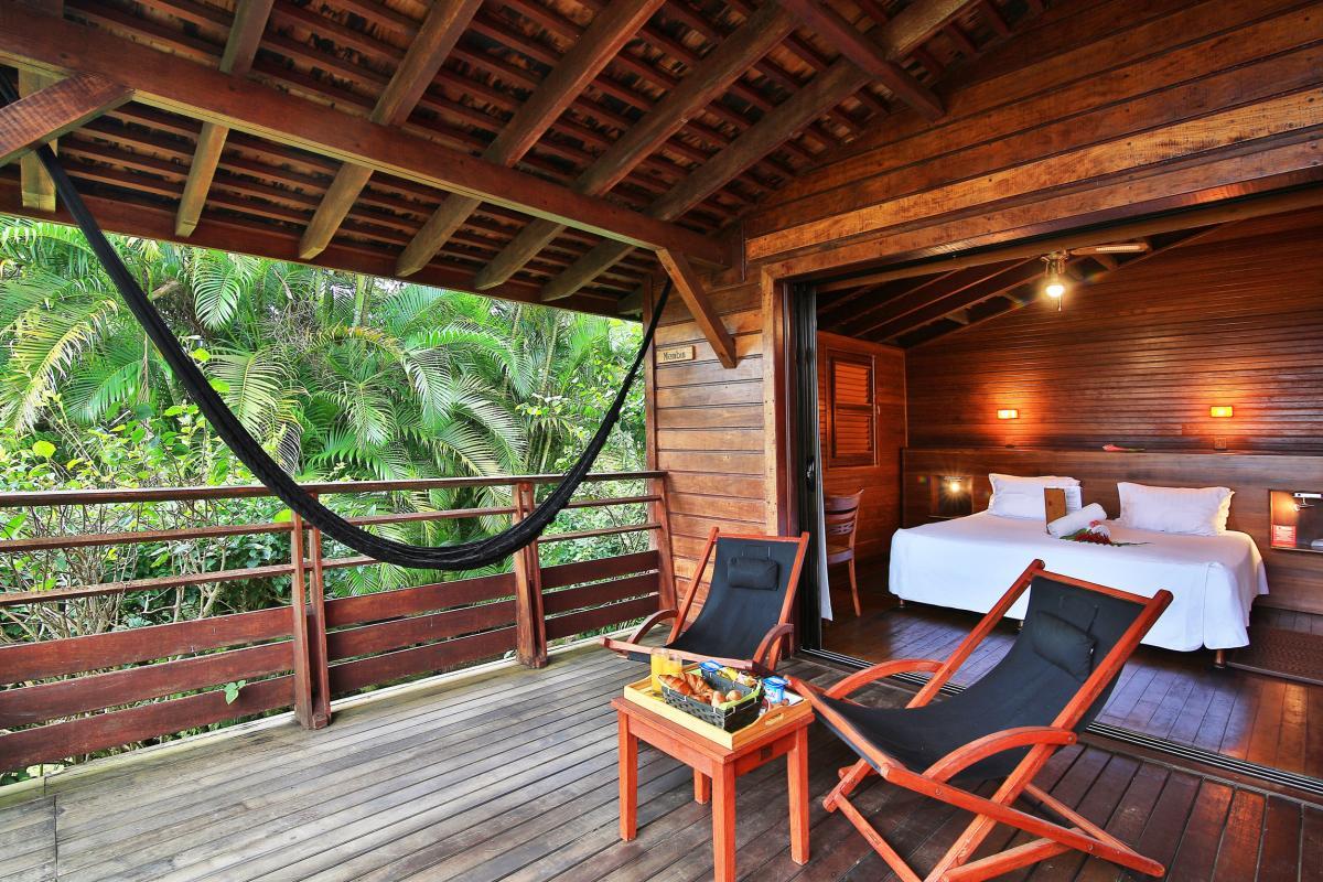 Le Jardin Malanga Guadeloupe -Terrasse cottage