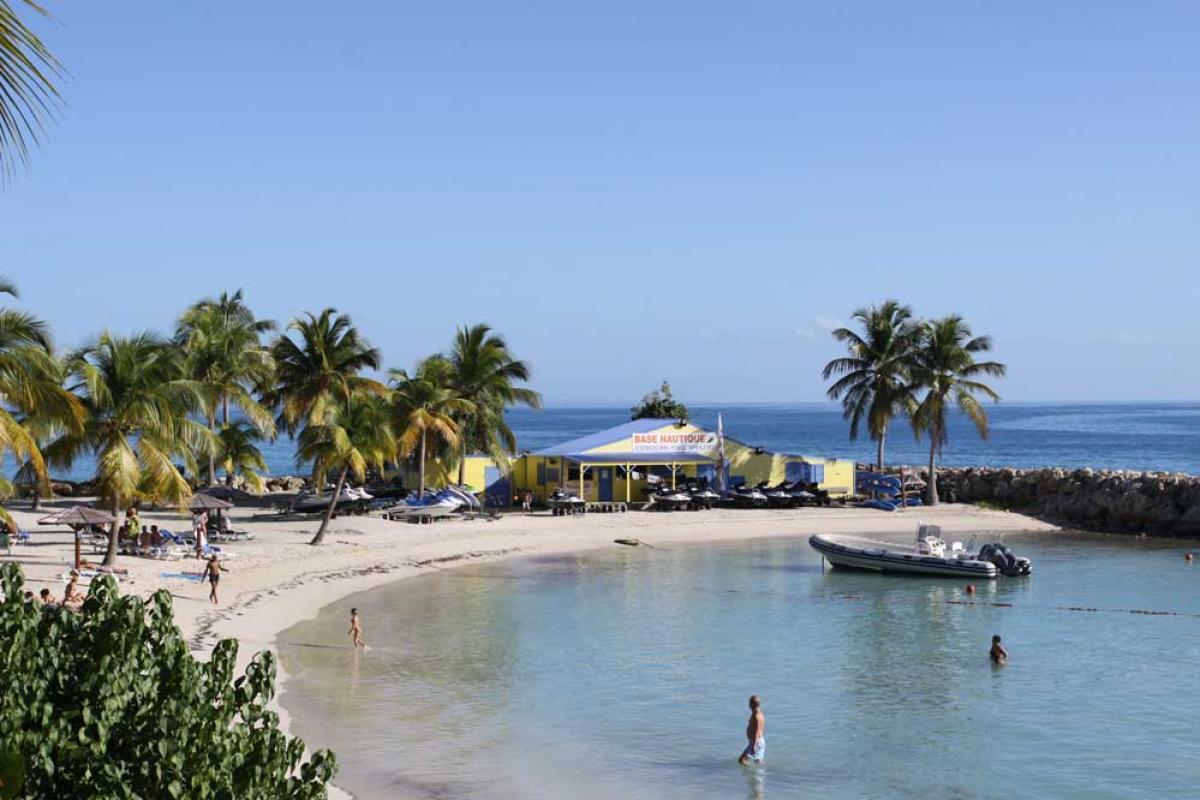 Hotel Clipper Guadeloupe - La plage