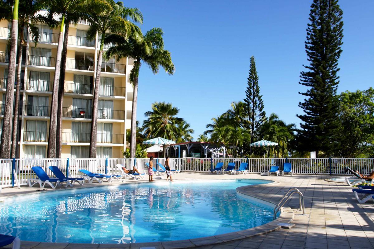 Hotel Guadeloupe - La piscine