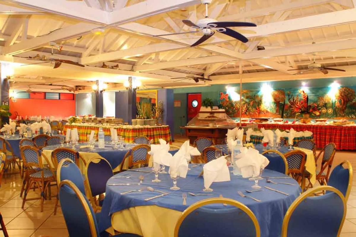 Hotel Salako - Le restaurant