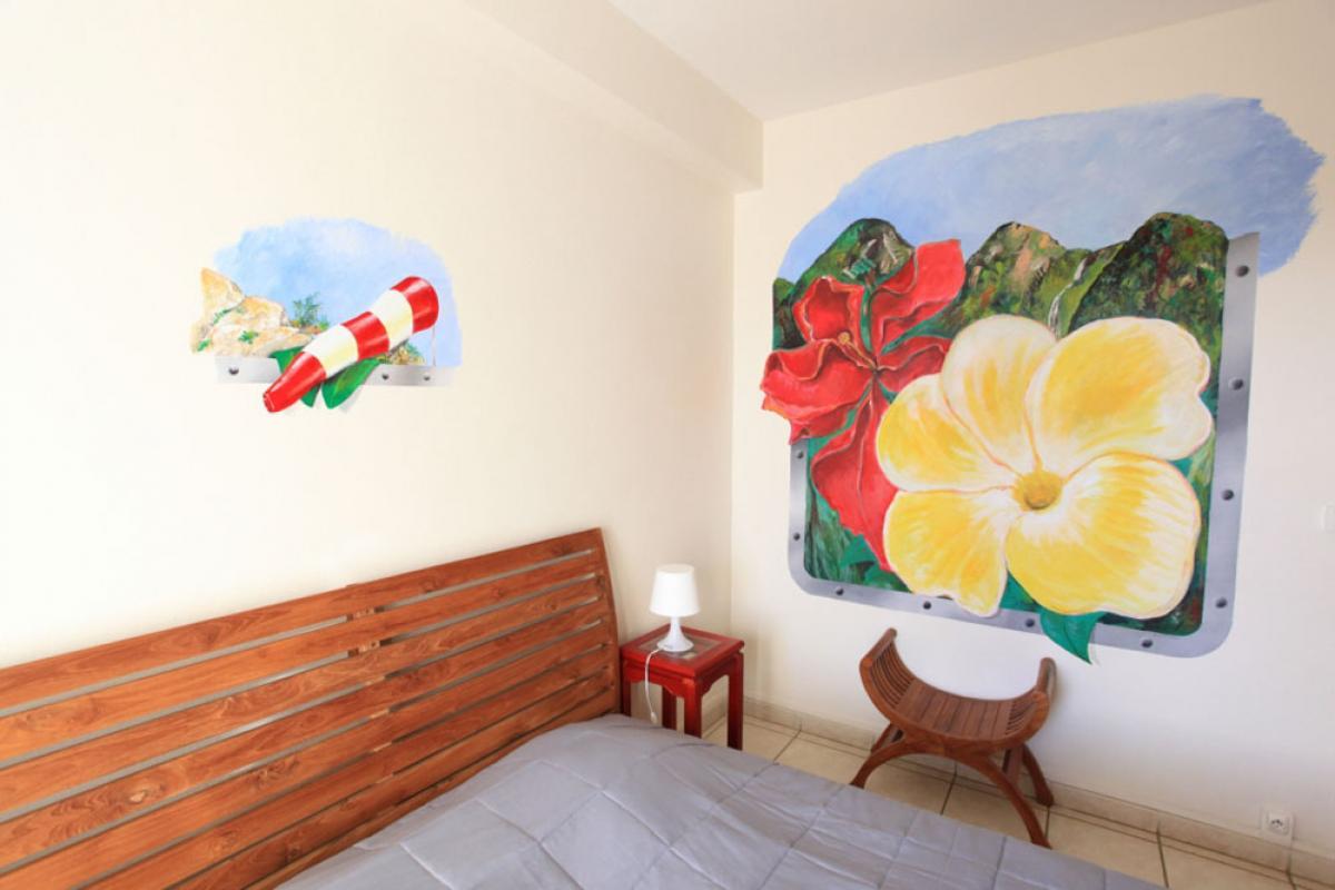 Hotel Lo Bleu - Chambre hibiscus