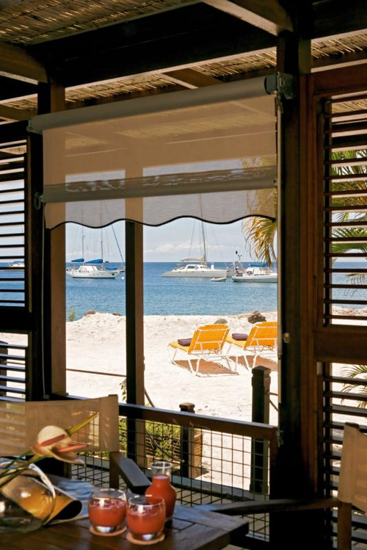 Terrasse Chambre plage