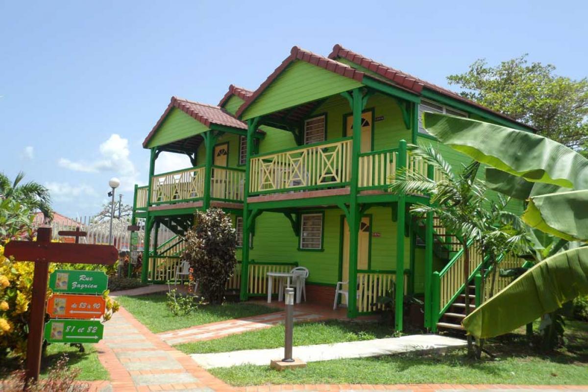 Hotel Bambou - Bungalow à étage