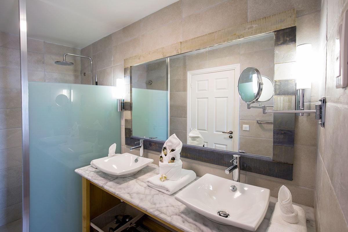 Hotel Bambou - Salle de Bain Mini Suites