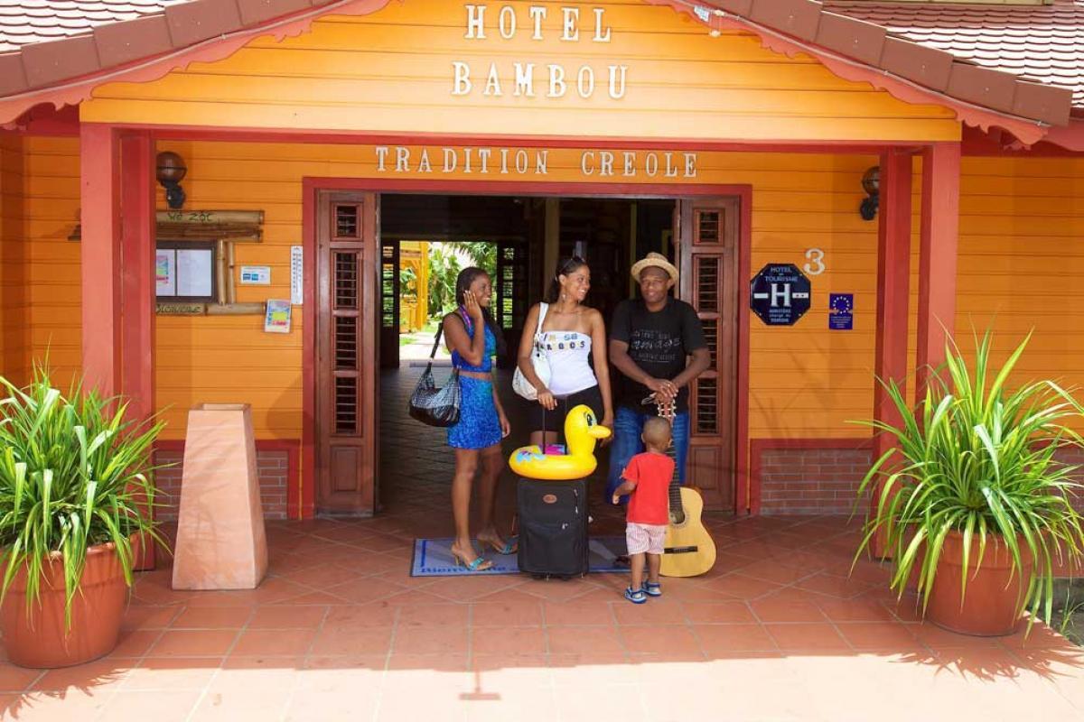 Hotel Bambou Trois Ilet - Entrée
