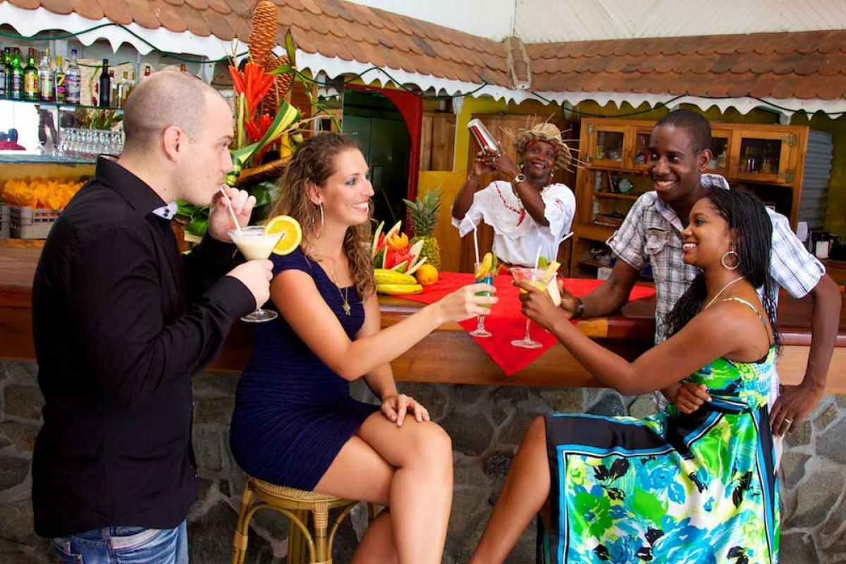 Hotel Bambou Trois Ilet - Le bar