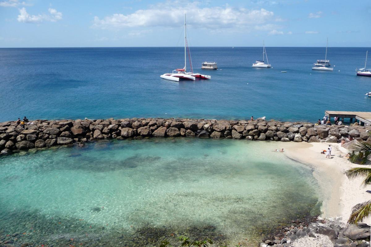 Plage Bateliere - Martinique