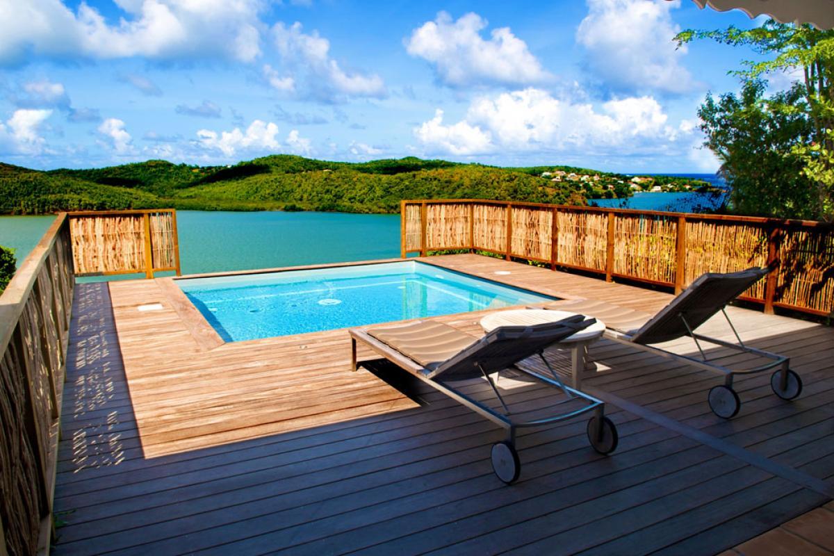 Location hotel luxe Martinique Master Pool