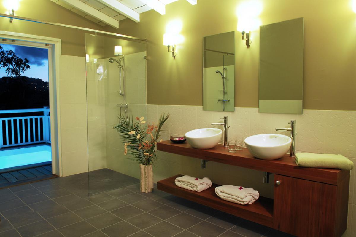 Salle d'eau suite jardin