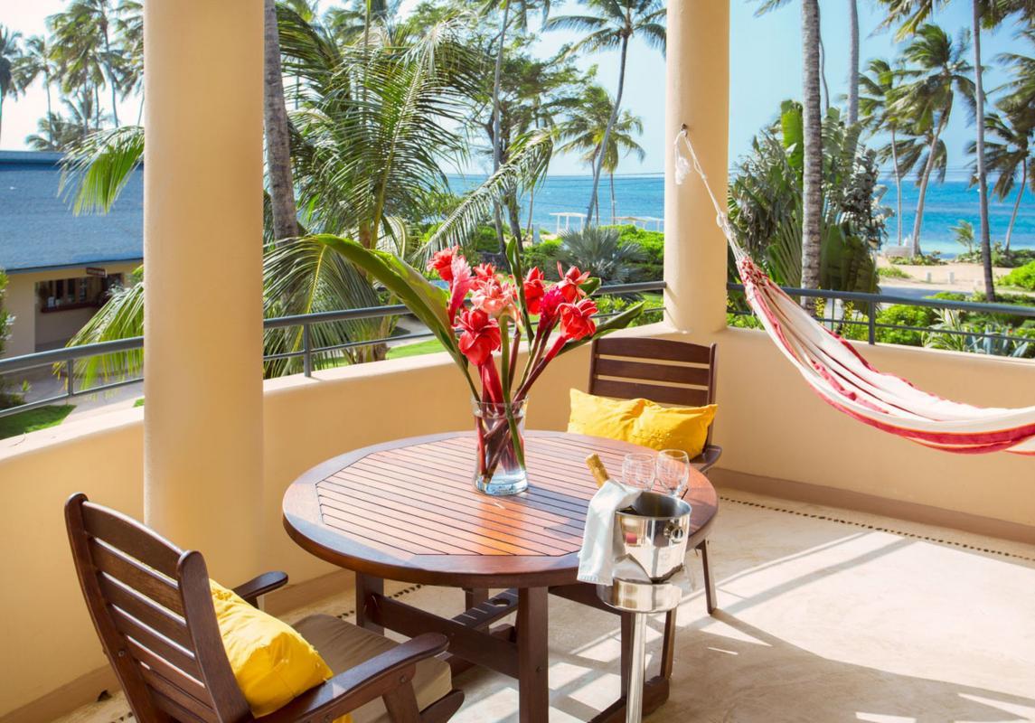 Hotel de luxe front de mer Alizei République Dominicaine appartement témoin
