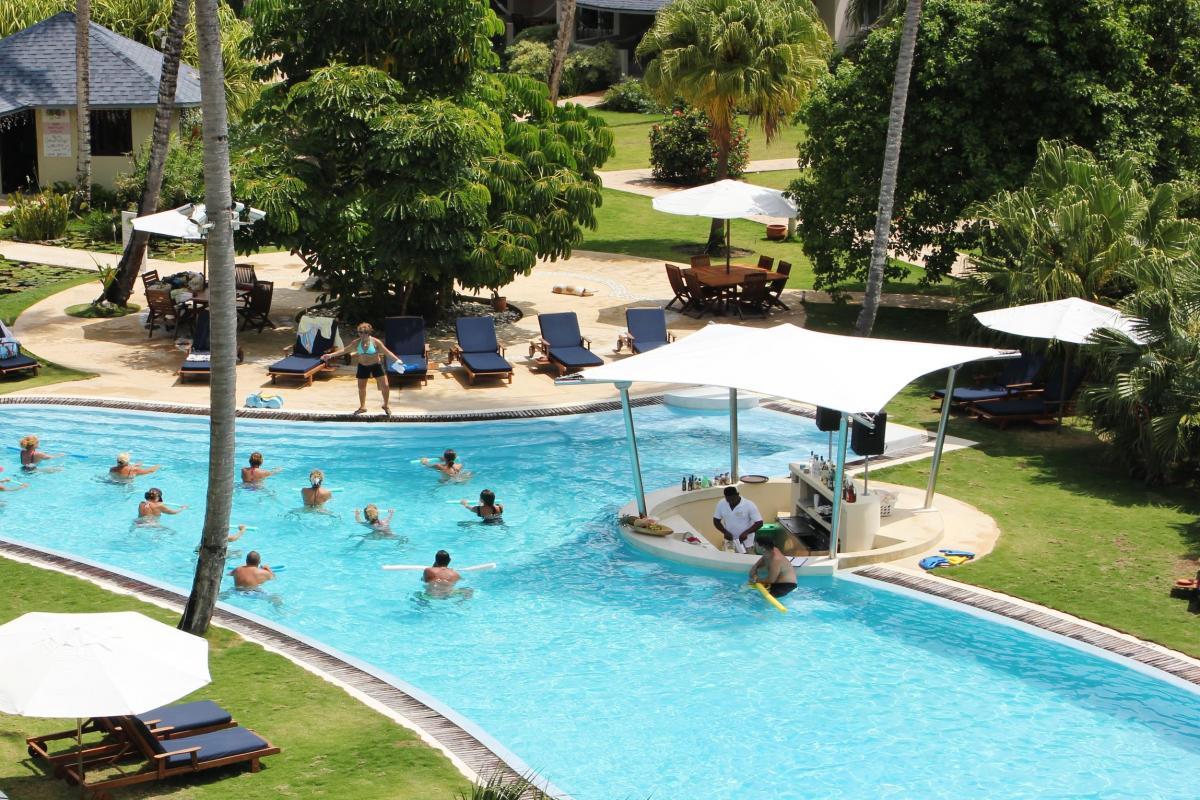 Hotel de luxe front de mer Alizei République Dominicaine kids